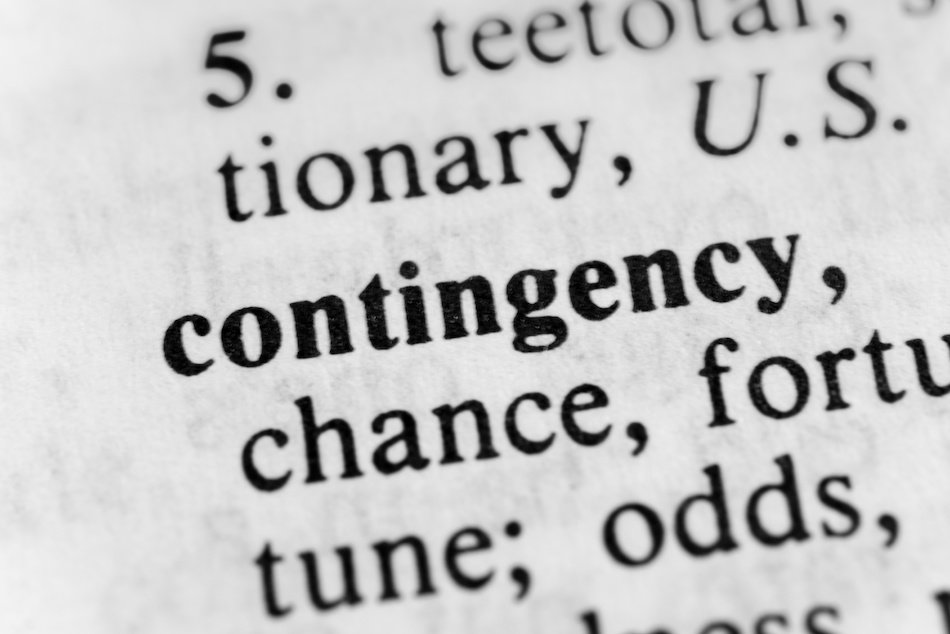 WHAT ARE CONTINGENCIES ON A CONTRACT?