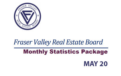 FRASER VALLEY REAL ESTATE BOARD MONTHLY STATISTICS PACKAGE MAY 2020